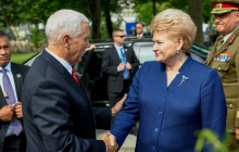 Даля Грибаускайте считает, что Россия может использовать Белорусскую АЭС в качестве оружия