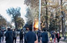 В Бишкеке прогремели взрывы: Десятки пострадавших - кадры