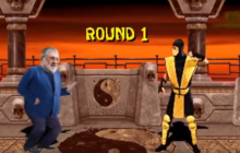 В Сети появилось уморительное видео про Коломойского в стиле легендарной игры Mortal Kombat