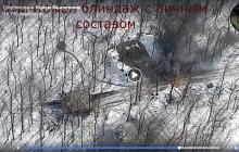 """Видео эффектного разгрома блиндажа """"ЛНР"""", у боевиков много """"200-х"""" и разбитые танки: """"Нарушаете - выгребайте"""""""