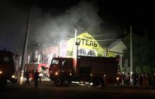 """Пожар в одесском отеле """"Токио Стар"""" унес жизни восьми человек - первые фото и видео трагедии"""