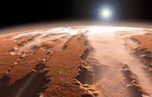 На Марсе обнаружен погребальный памятник, как прямое доказательство разумной жизни - фото