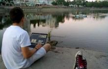 Украинский студент создал робота, который может чистить реки от мусора