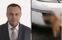 В Таганроге депутат-единоросс несколько дней разъезжал по городу с мертвой собакой, застрявшей в бампере, - кадры