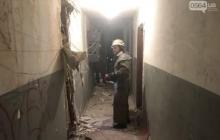 В Кривом Роге в многоэтажке взрывом разнесло квартиру - раненых выносили на носилках: кадры и подробности