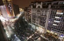 """Под """"другом Путина"""" Вучичем зашаталось кресло: тысячи сербов требуют отставки президента"""