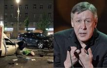 В Сети появился маршрут Ефремова за час до ДТП: артист едва не сбил 4 человек