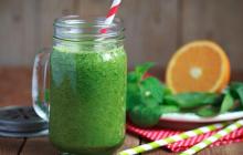 """Пошаговый рецепт освежающего фруктового смузи с мятой: """"Утоляем жажду вкусно"""""""
