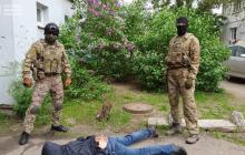 """Шпион ФСБ """"покусился"""" на ракетную программу Украины и попал в руки СБУ - видео спецоперации"""