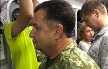 Министр обороны Украины Степан Полторак был обнаружен в киевском метро - чиновник спустился в подземку, чтобы не опоздать на репетицию парада