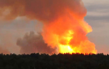 """""""Военные десятками выбегали из леса, страх в глазах был"""", - очевидец рассказал об эпическом взрыве в Ачинске"""