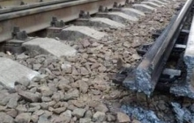 Взорвана железная дорога на перегоне Ясиноватая-Скотоватая