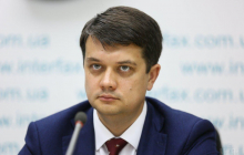 Разумков резко заявил, что Украина не пойдет на капитуляцию перед РФ на Донбассе