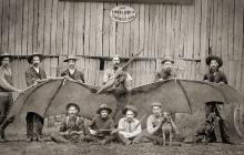 В США сбили гигантского птеродактиля: уникальное фото, которое скрывали долгие годы