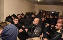 В Одессе в одном из главных судов города произошло массовое побоище: задержано около 50 человек - кадры