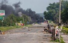 Тымчук: силы АТО проводят действия по зачистке Ясиноватой