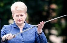 Президент Литвы Грибаускайте заявила, что ей лично и ее министрам Кремль постоянно угрожает расправой