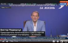 Зеленский разозлил Медведчука заявлением о Донбассе на росТВ: план Москвы начал рушиться