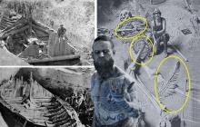 Под кораблем викингов нашли великана, тело которого обвивал 15-метровый реликтовый змей титанбоа