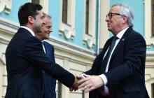 Итоги саммита Украина-ЕС: Зеленский, Юнкер и Туск подписали 5 важных соглашений - известны детали
