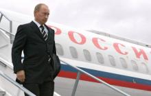 Вокруг самолета Путина внезапно подняли в воздух боевые вертолеты Ми-24: соцсети озадачены, видео из аэропорта вызвало споры