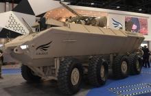 """В ОАЭ показали новый БТР с украинским боевым модулем """"Штурм"""": огневая мощь системы поражает - кадры"""