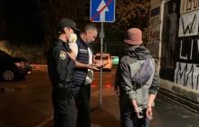 Кличко лично поймал хулиганов в Киеве и вызвал полицию: ночной инцидент попал на видео