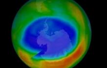 Озоновая дыра над Антарктидой стала значительно меньше - видео