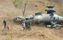 На антиамериканских учениях в Венесуэле рухнул российский вертолет Ми-35 - кадры
