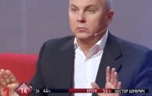 """Скандал на ZIK: Шуфрич чуть не получил по лицу от Михальчишина и """"в онемении начал что-то бормотать"""" - видео"""