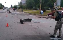 СМИ: В Черкассах взорвано авто известного бизнесмена, пострадавший скончался в больнице