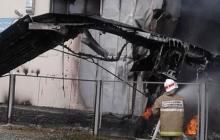 """В России рухнул и загорелся самолет """"Ан-24"""": все пилоты погибли - первые подробности и кадры ЧП"""
