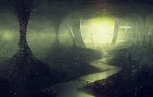 Американский контр-адмирал во время полета нашел подземную цивилизацию