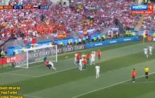 Россия - Испания: опубликовано видео двух голов, забитых в первом тайме - кадры