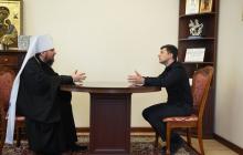СМИ узнали, что Епифаний и Зеленский обсуждали во время встречи в Киеве