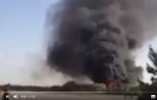 В Афганистане сразу после взлета рухнул и взорвался вертолет с украинцами на борту: никто не выжил – первые кадры