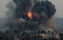 После ракетного удара со стороны Сирии Израиль ответил силой: мощный взрыв попал на видео