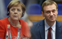 СМИ узнали о тайной встрече Меркель с Навальным