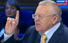 """Жириновский пообещал, что Украина будет """"полыхать"""" весь 21 век и назвал регионы, где война никогда не закончится"""
