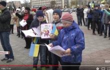 Разве эти дети могут предать родную Украину: северодонецкие школьники патриотическим флешмобом разрушили главный тезис кремлевских пропагандистов, - кадры