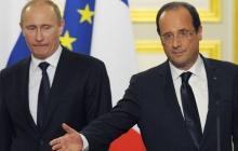 Путина никто в Париже не ждет и никакой встречи не будет: Олланд поставил на место президента России