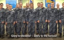 """""""С нами правда"""", - курсанты морской академии записали видео со словами поддержки пленным морякам"""