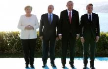 Эрдоган экстренно созывает Меркель и Макрона на встречу с Путиным