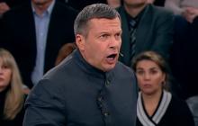 """""""Пошел вон отсюда!"""" - Соловьев вышел из себя в эфире из-за Бандеры"""