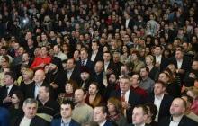 """""""Гарантия силы украинского оружия – всенародная поддержка нашей армии"""", - Порошенко обратился с мощной речью к жителям Полтавы"""