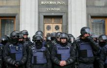 В центр Киева стягивают полицию и Нацгвардию: что происходит