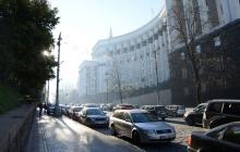 """Киев заблокирован: протест """"евробляхеров"""" разрастается - кадры"""