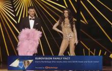 """Eleni Foureira спела песню Сердючки на """"Евровидении"""" и """"порвала"""" зал - кадры"""