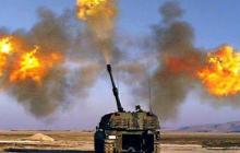 Азербайджан ударил по армянским позициям из турецких САУ T-155 Fırtına и израильских 120-мм минометов: видео