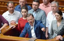 Ляшко обвинил Зеленского в незаконности продажи земли - кадры